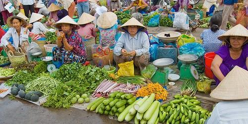 Los mercados vietnamitas y sus nombres - ảnh 1