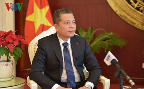Vietnam y China fortalecen relaciones de amistad y buena vecindad - ảnh 1