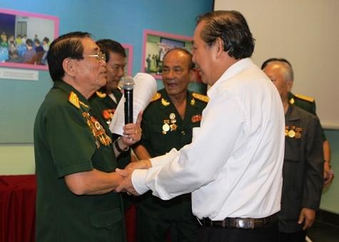 Gobierno vietnamita comprometido en atender a veteranos de guerra - ảnh 1