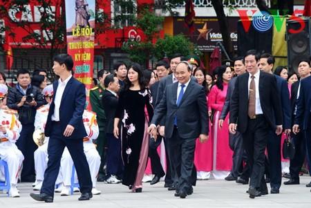 Festival de Dong Da - Memoria de la histórica lucha contra los agresores extranjeros - ảnh 12