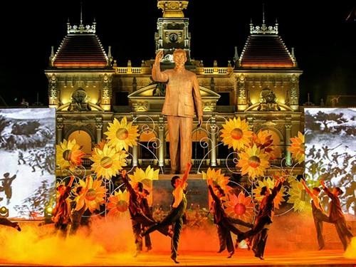 Localidades vietnamitas celebran 87 años de fundación del Partido Comunista - ảnh 1