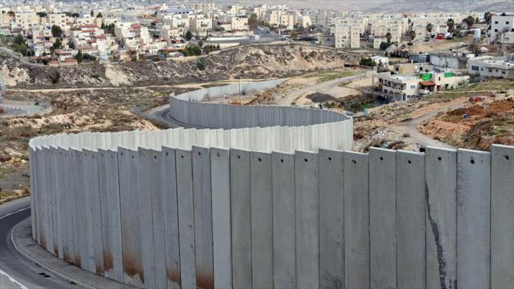 Israel completa tramo de muro fronterizo con Palestina en Cisjordania - ảnh 1