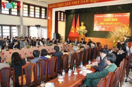 Valoran contribuciones del sector periodístico a logros de Vietnam en pasado año   - ảnh 1
