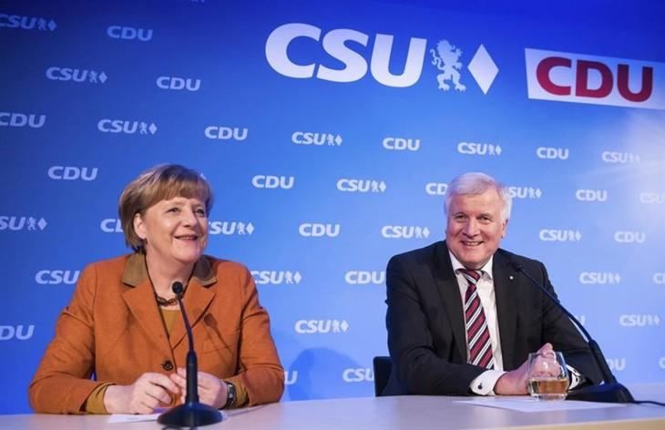 Merkel, candidata de los conservadores alemanes para elecciones - ảnh 1