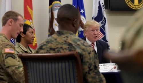 Trump se compromete a reforzar lucha contra el terrorismo - ảnh 1