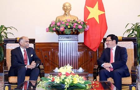 India considera al fortalecimiento de relaciones con Vietnam - ảnh 1