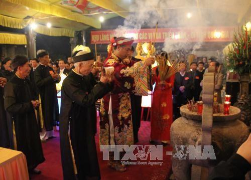 Inauguran festival en homenaje a los reyes Tran de Vietnam - ảnh 1