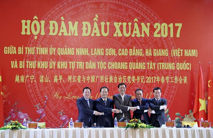 Localidades de Vietnam y China afianzan cooperación multifacética - ảnh 1