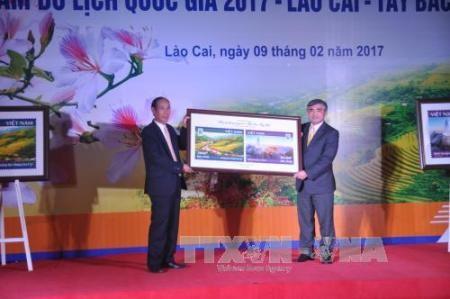 Inauguran en Lao Cai Año Nacional de Turismo 2017  - ảnh 1