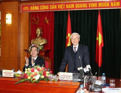 Piden mejor desempeño del Departamento de Economía del Comité Central del PCV - ảnh 1