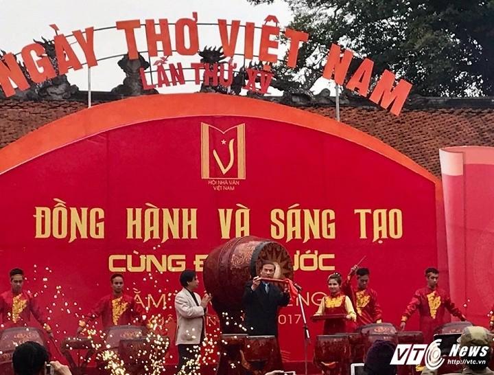 Honran en Vietnam a la poesía y sus creadores - ảnh 1