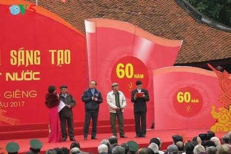 Día de la Poesía de Vietnam, en el Templo de la Literatura, en Hanoi - ảnh 10