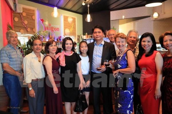 Encuentro primaveral para compatriotas vietnamitas en Nueva Zelanda - ảnh 1