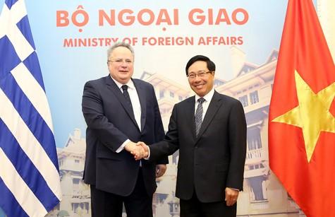 Vietnam y Grecia buscan intensificar relaciones bilaterales - ảnh 1