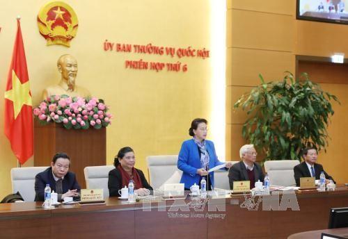 Anuncia Comité Permanente del Parlamento vietnamita agenda de su próxima sesión - ảnh 1