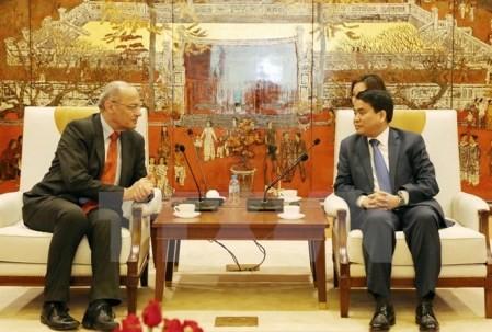 Hanoi aspira estrechar cooperación con ciudades francófonas - ảnh 1