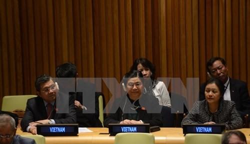 Aprecian papel de Vietnam en las Naciones Unidas - ảnh 1