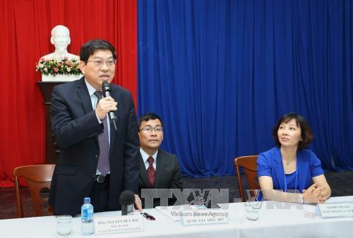 Cubrirán 170 reporteros nacionales y foráneos actividades del Año de APEC en Vietnam - ảnh 1