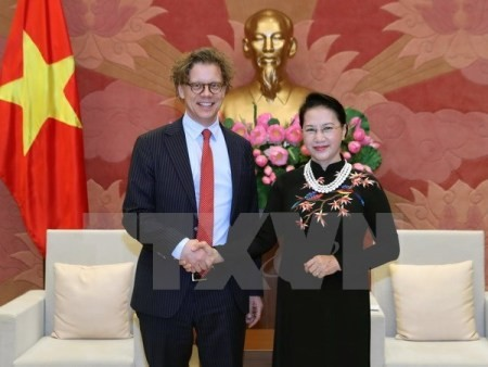 Vietnam estrecha lazos con Suecia y Hungría - ảnh 1