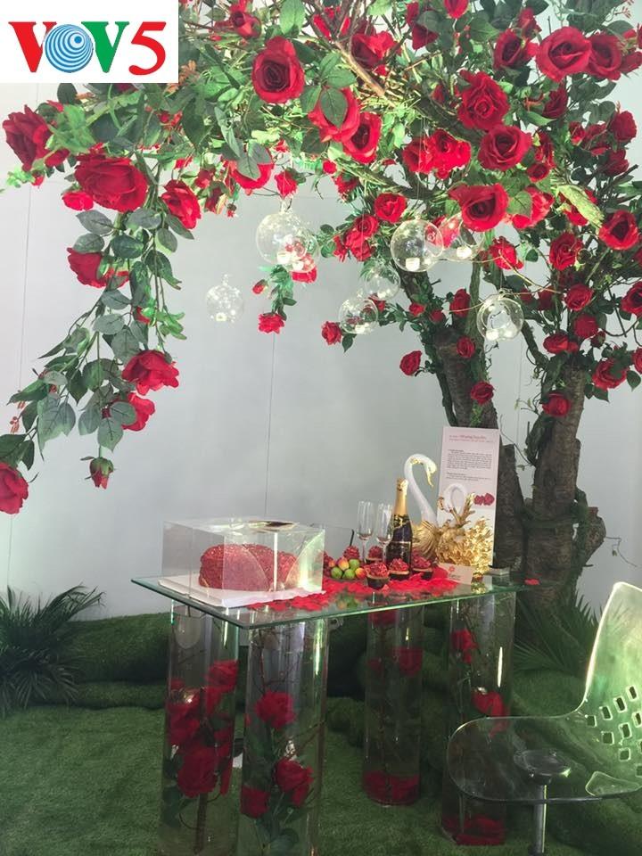 """Exposición """"Fiesta del Amor"""", un destino atractivo para enamorados y amantes de flores - ảnh 2"""