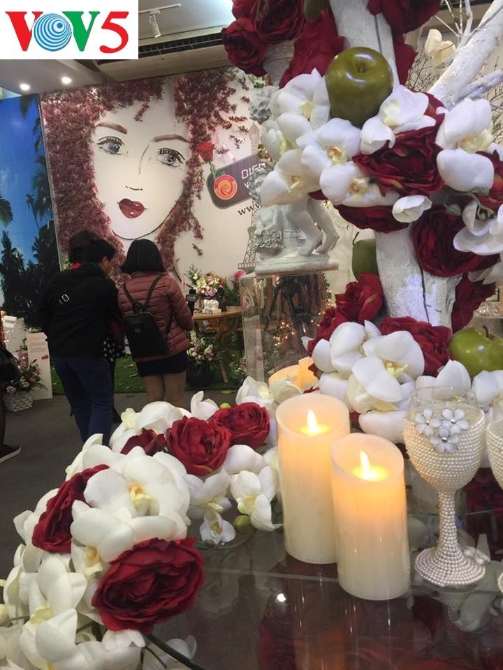 """Exposición """"Fiesta del Amor"""", un destino atractivo para enamorados y amantes de flores - ảnh 4"""