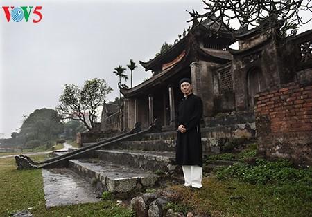 Pham Sanh Chau, embajador del traje tradicional de Vietnam - ảnh 3