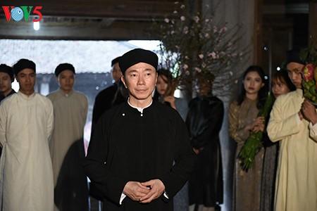 Pham Sanh Chau, embajador del traje tradicional de Vietnam - ảnh 7