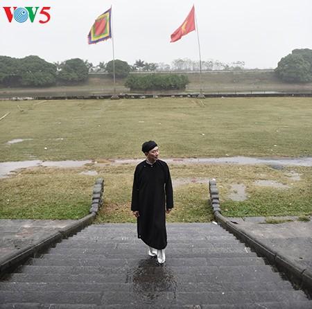 Pham Sanh Chau, embajador del traje tradicional de Vietnam - ảnh 9