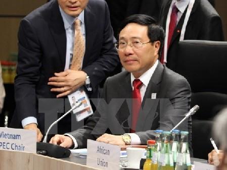 Dirigente vietnamita destaca importancia del respeto a la ley internacional para una paz duradera - ảnh 1
