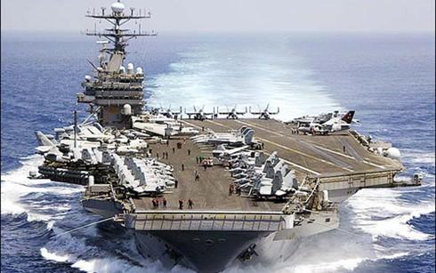 Portaaviones estadounidense en misión de vigilancia en el Mar Oriental - ảnh 1