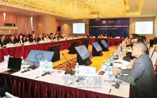 Termina segundo día de trabajo de la primera Conferencia de altos funcionarios de APEC - ảnh 1