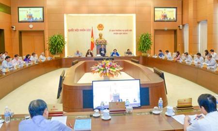 Arranca séptima reunión del Comité Permanente del Parlamento de Vietnam - ảnh 1
