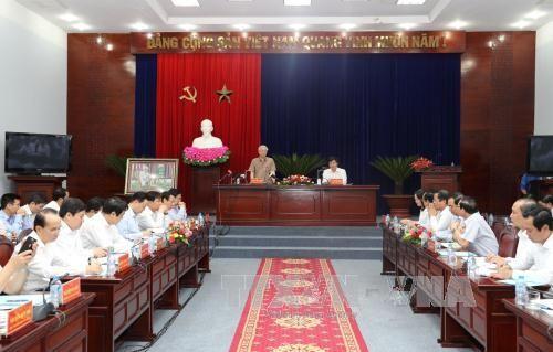 Líder partidista exhorta a Bac Lieu a invertir en productos de alto valor económico  - ảnh 1