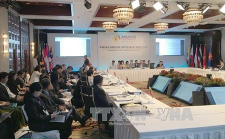 Vietnam asiste a la reunión de altos funcionarios de Asean en Filipinas - ảnh 1