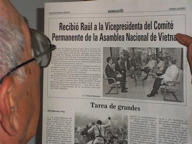 Destacan prensa cubana, repercusión de visita  de dirigente parlamentaria vietnamita a la isla - ảnh 2