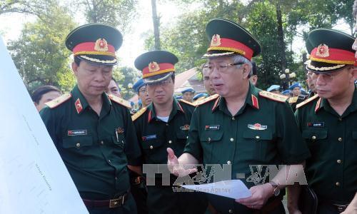 Hospital de campaña de Vietnam acelera preparativos para misión de paz de la ONU - ảnh 1
