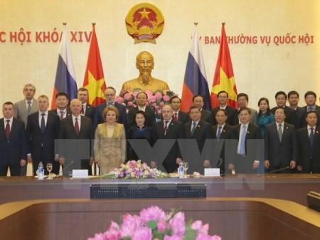 Presidenta del Consejo de la Federación de Rusia concluye visita a Vietnam - ảnh 1