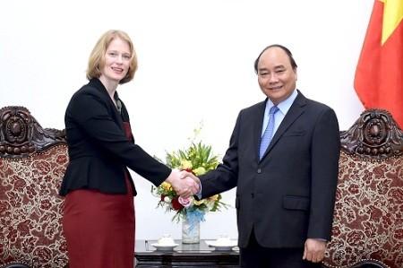 Premier vietnamita da la bienvenida a nuevos embajadores de Nueva Zelanda y Eslovenia   - ảnh 1