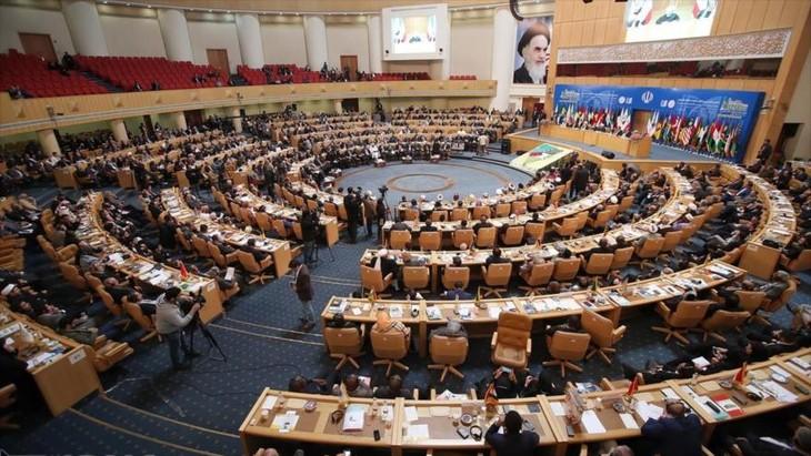 Representantes de 80 países reiteran apoyo a Palestina ante Israel - ảnh 1
