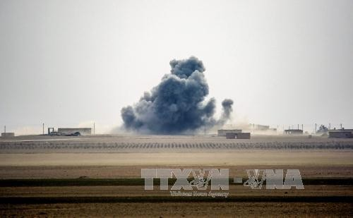 Tropas sirias liberan bases militares cerca de Alepo - ảnh 1