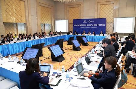 Economías de APEC discuten medidas de prevenir y luchar contra epidemias   - ảnh 1