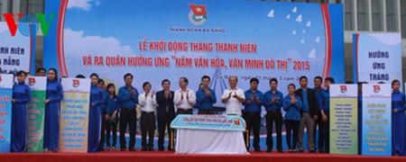 Lanzan en Vietnam Mes de la Juventud 2017 - ảnh 1