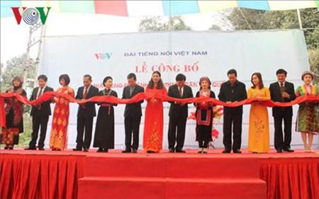 Voz de Vietnam instala primera estación del Canal Nacional en Lenguas Étnicas - ảnh 1