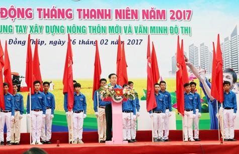 Impulsan en Vietnam participación de jóvenes en labores en pro de la sociedad - ảnh 1