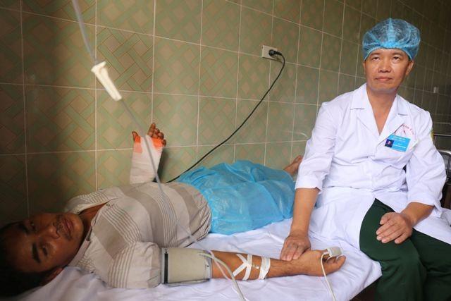 Médicos militares de Truong Sa contribuyen a la protección de soberanía nacional - ảnh 1