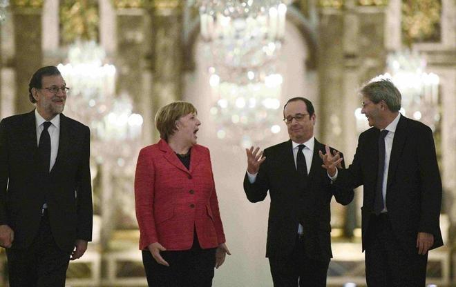 Reducir las diferencias sobre el futuro de la UE, misión difícil - ảnh 1