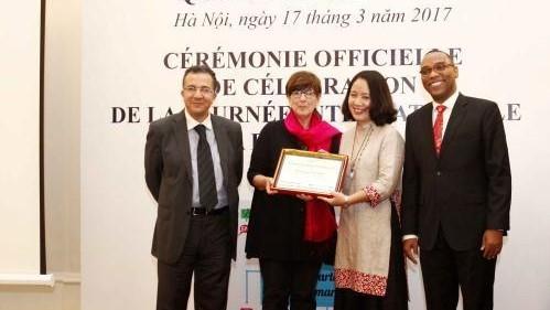 Vietnam por contribuir al desarrollo común de la comunidad francófona - ảnh 1