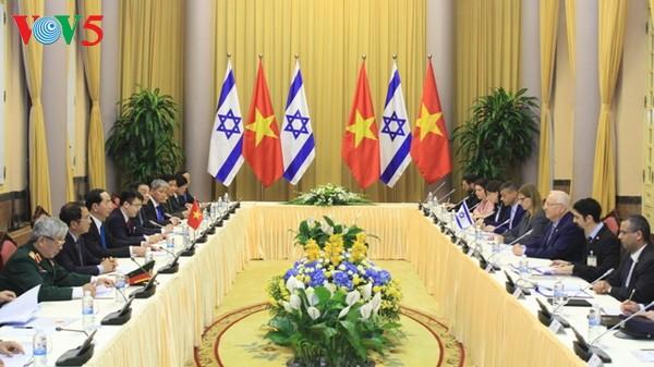 Vietnam e Israel consideran la economía y ciencia-tecnologia pilares de su futura cooperación - ảnh 2