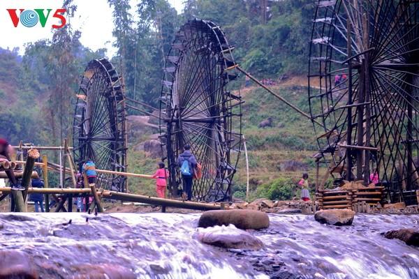 Ruedas de agua, un atractivo del noroeste de Vietnam - ảnh 1