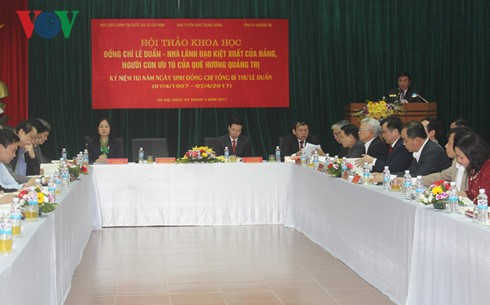 Le Duan, un líder excepcional del Partido Comunista de Vietnam - ảnh 1